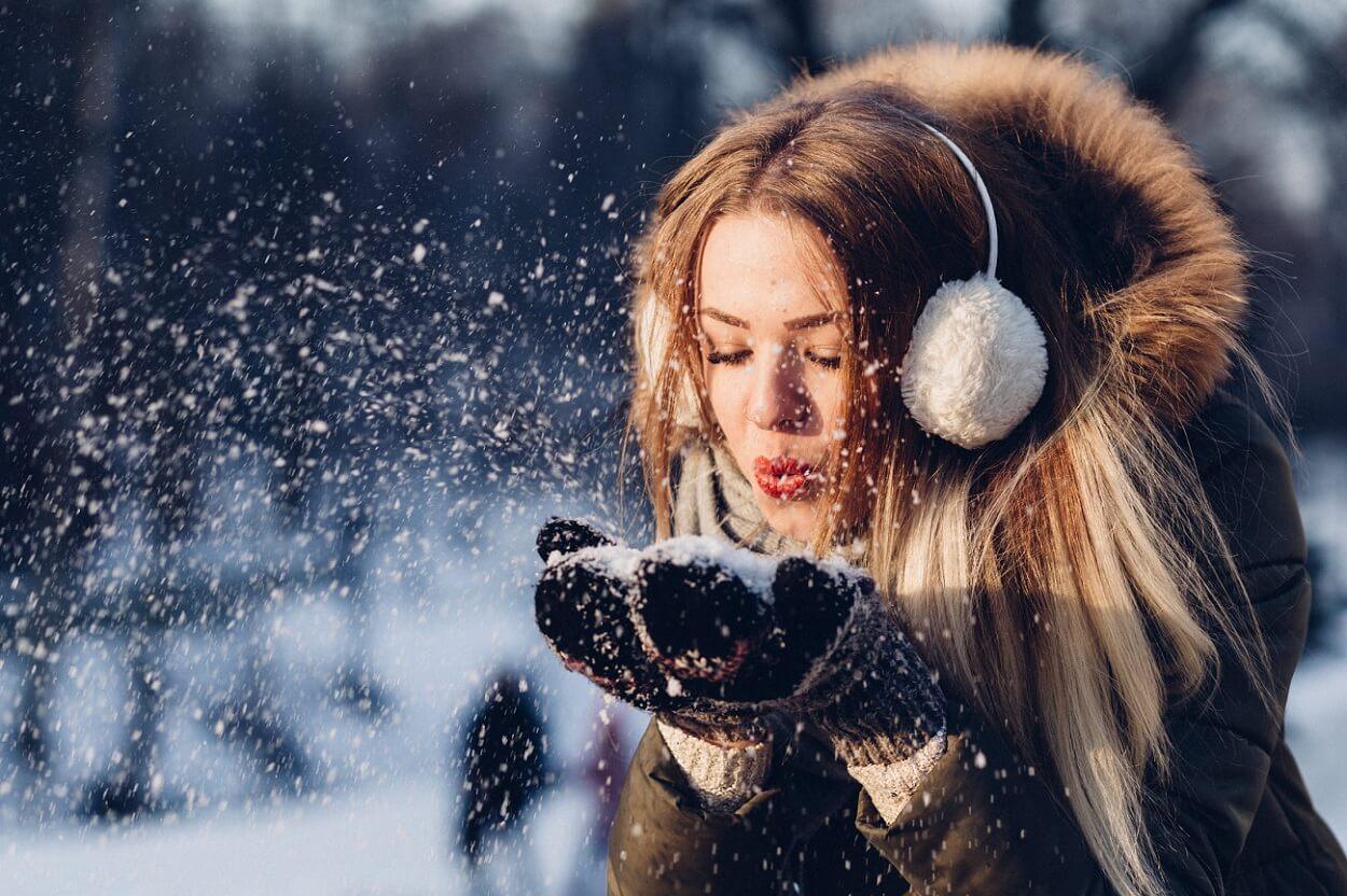 Sneh na Vianoce