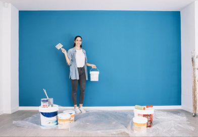 Ako vymaľovať steny izby
