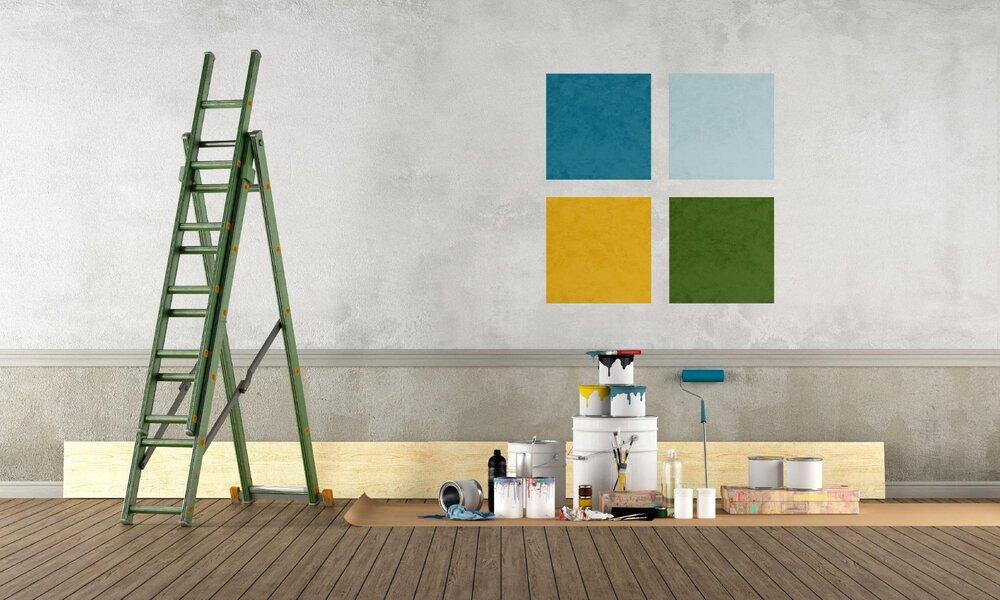 Akú farbu zvoliť pri maľovaní svojpomocne
