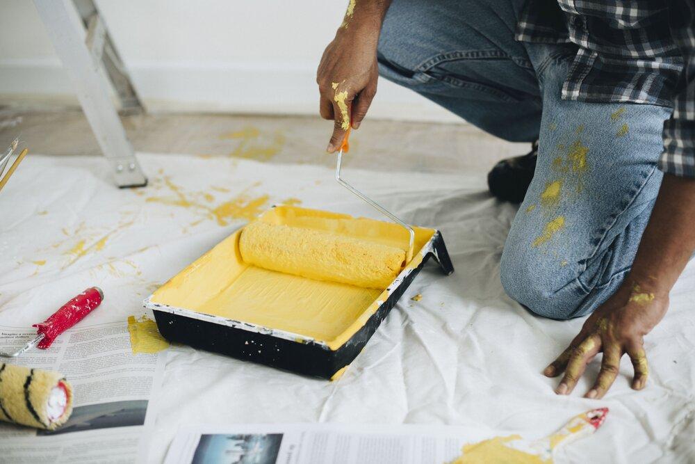 Maľovanie stien detskej izby