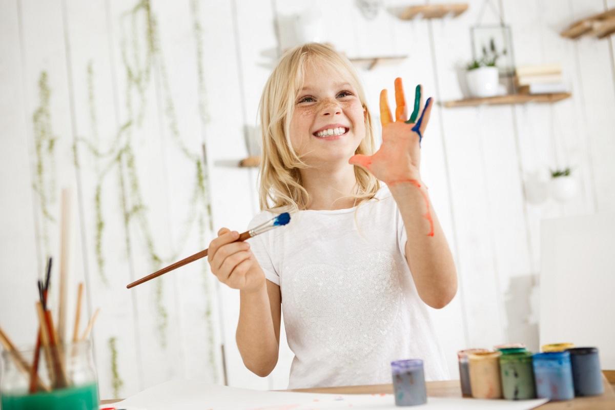 Kreslenie a maľovanie detí