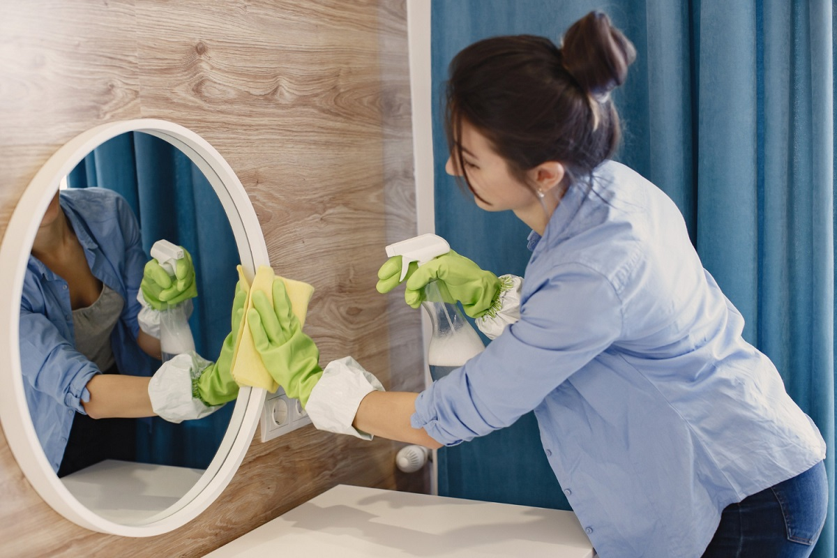 Rýchle upratovanie kúpelne